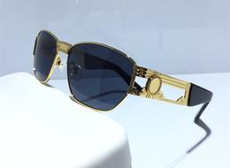 Marcos para prescripción online-2663 Gafas de lujo Anteojos recetados Anteojos Vintage Fashion Designer Eyeglasses Con Estuche Original Diseño Retro Chapado en oro