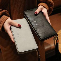 lila leopardgeldbeutel Rabatt Marke Designer Armband Brieftaschen Frauen Viele Abteilungen Clutch Wallet Weibliche Lange Große Karte Geldbörse Damen Handtasche Luxus Geldbörsen