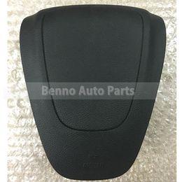 Volante opel on-line-Alta Qualidade SRS Airbag Cover Para Opel Astra 2012 Motorista Volante Airbag Capa Com Logotipo Frete Grátis