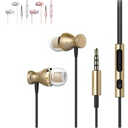 High Quality Magnetic Earphone 3.5MM Jack Wired Earphones With Microphone Subwoofer Stereo Headphones For iPhone Samsung Smartphone