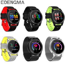 Verbundenes armband online-R13pro Fitness Armband Herzfrequenz Druckmessgerät Blut Mit Pedometer 4.0 angeschlossenen Telefon für Android sehen