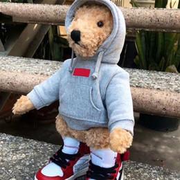 Canada FW18 BOX LOGO X Collection de jouets poupée ours en peluche Semaine de chute HFLSWO002 Offre