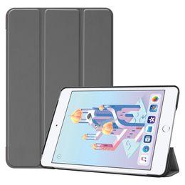 Argentina 30 unids libro cubierta del tirón elegante caso de Shell para Apple iPad mini 4 mini 5 2019 7.9 pulgadas mini4 mini5 A1538 A1550 Tablet cheap smart book covers Suministro