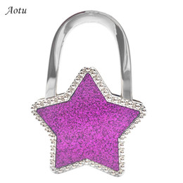 Triangle Colorful Everything Purse Hanger Handbag Hook Retractable Folding