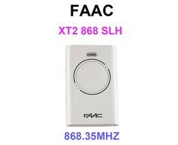 12v fernbedienung aus Rabatt 3piece NEW Tor Garagentor Hand-Fernbedienung für FAAC XT2 868 SLH 868,35MHz Kostenlosen Versand
