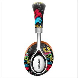 Écouteurs à la mode en Ligne-Bluedio A2 Mini Portable Bluetooth Headset Casque sans fil à la mode pour la musique et téléphone avec microphone voiture écouteur