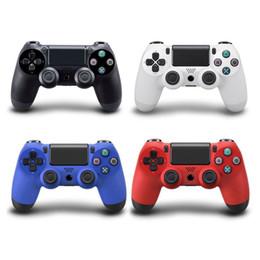 pieles al por mayor xbox Rebajas Controlador inalámbrico Bluetooth Gamepad para PS4 Controlador de juegos Joystick Gamepads para 4 consolas PS4 Pro Slim