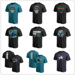 2019 t-shirt markenlogos San Jose Sharks T-Shirt Fanatics Branded Banner Wave 2019 Playoffs Kurzarmhemd Herren Eishockey Fans Tops Tees Printed Team Brand Logos rabatt t-shirt markenlogos