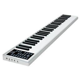 2019 mikrofone kinder großhandel Smart Piano 61-Tasten-Multifunktions-Tastatur tragbares elektronisches Klavier Erwachsenen-Profi-Version MIDI-Tastaturaufladung