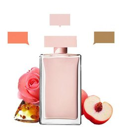 donne profumate di bottiglia rossa Sconti Profumo di alta qualità bottiglia rosa bottiglia rosa rossa bottiglia nera Fragranza attraente per le donne lunga durata spedizione gratuita.