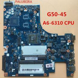 x58 motherboards Rabatt PALUBEIRA kostenloser Versand für Lenovo G50-45 Laptop Motherboard A6-6310 mit CPU ACLU5 / ACLU6 NM-A281 100% getestet