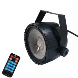 2019 mini led par puede Niugul RGB + UV 30W LED COB Par Light con control remoto inalámbrico / efecto UV Iluminación LED de escenario Profesional para DJ Disco Party