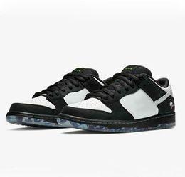 2020 Staple x SB Dunk Low PRO OG QS Chaussures de course Panda Pigeon Femmes Hommes Designer Chaussures Baskets des Chaussures Chaussures