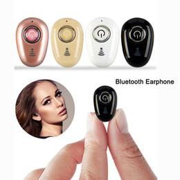 2019 il mic del bluetooth migliore Piccolo S650 Mini Bluetooth Auricolare True Wireless Best Auricolari Sport Auricolari Auricolare vivavoce con microfono per tutti i telefoni il mic del bluetooth migliore economici