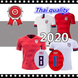 soccer jerseys united states Coupons - Thai quality 2019 USA PULISIC Soccer Jersey 2020 DEMPSEY BRADLEY ALTIDORE WOOD America Football jerseys United States Shirt Camisetas