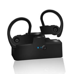 Универсальные ушные крючки для наушников онлайн-Спортивная гарнитура TWS 6 Bluetooth Беспроводные наушники-вкладыши Наушники-вкладыши VS Power 3 i30 i60 i80 для iphone xs max samsung huawei универсальный