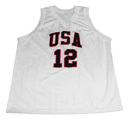 c0b0a69151df CUSTOM James Harden  12 1992 Dream Team New Basketball Jersey White  Stitched Custom any number name MEN WOMEN YOUTH BASKETBALL JERSEYS discount  dream team ...