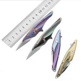 alliage de titane pliant couteau de poche randonnée camping TC4 poignée colibri couteau pliant couteau de plein air ? partir de fabricateur