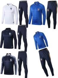 2019 ropa de futbol 2019 2020 Frances 100º aniversario de GRIEZMANN Soccer Jersey chaqueta MBAPPE de distancia Camisa francesa POGBA KANTE Fútbol Francia ropa de entrenamiento ropa de futbol baratos