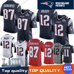077a170c5 Best New 12 Tom Brady Patriots Jersey 11 Julian Edelman men 80 Danny  Amendola 14 Brandin Cooks 92 Harrison 15 Chris Hogan 87 Rob Gronkowski