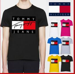 c8f56d186 m logotipo projetos Desconto Primavera   verão 2019 nova marca  internacional dos homens T-shirt