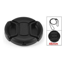 Universale 46 millimetri Centro Pinch anteriore copriobiettivo per la fotocamera DSLR da