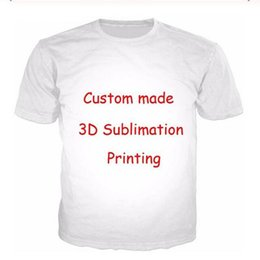 Conception t diy shirts en Ligne-Custom Design DIY 3D Print Vêtements Hommes Femmes T-shirts Hauts unisexe étoile Pet Anime photo motif imprimé QR072