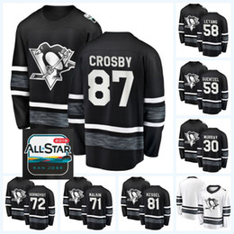 1cba63ea9 58 Kris Letang Pittsburgh Penguins 87 Sidney Crosby 71 Evgeni Malkin 72 Patric  Hornqvist 81 Phil Kessel 2019 All-Star Game Hockey Jersey