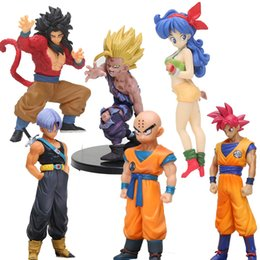 deadpool action figures pvc Promo Codes - z Anime styling child goku Trunks Vegeta lunchi 1 8 scale Dragon Ball Z Action Figure PVC Collectible Model Toys