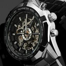relógio vencedor Desconto Fashio Marca Top Winner Mens Relógios de Luxo esqueleto Relógio Man clássico Sport Watch presente Automático Mecânica Relogio Masculino