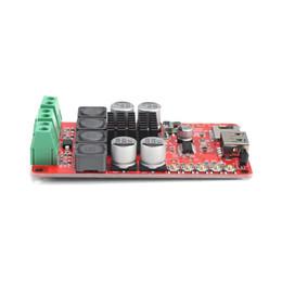 tablero del amplificador bluetooth Rebajas TPA3116 2 x 50W HF183 Tarjeta de amplificador de potencia Receptor de audio Módulo de bricolaje Con 2 x 50W de salida de potencia estéreo y entrada Bluetooth 4.0