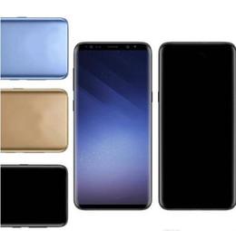 6.3 smartphone Rabatt Goophone S10 Plus 6,3 Zoll S10 + Goophone mit Face Iris ID Smartphone WCDMA 3G Quad Core Ram 1 GB ROM 8 GB Android 7.0 Kamera 8.0MP