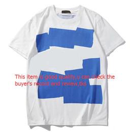 2019 meninos pintaram camisas Mens Verão Designer Marca Hot T-shirts camisetas para mulheres dos homens de manga curta camiseta de Luxo Padrão Roupa letra impressa Tees Crew Neck