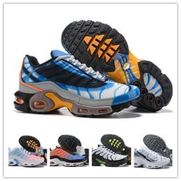 Zapatillas de baloncesto online-Original Tn Mercurial diseñador zapatillas Chaussures Homme TN zapatos de baloncesto Hombre mujer Zapatillas Mujer Mercurial TN zapatillas 36-46