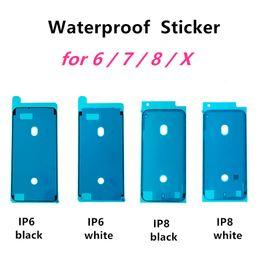 2019 iphone innere klammern gesetzt Wasserdichter Aufkleber für iPhone 6s 6s plus 7 7 plus 8 8 plus X 3M LCD-Bildschirmrahmen-Bandreparaturkleber Kleber