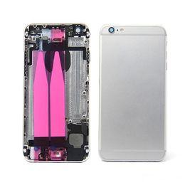2019 caso medio di iphone 5s 4,7 lnch Per IPhone 6G Telaio centrale posteriore Telaio alloggiamento 6G completo Coperchio della batteria Sportello posteriore con cavo flessibile.