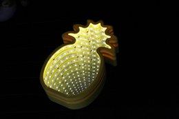 Canada 3D Creative LED néon bande Marquee LED Night Light Chambre Tunnel Modélisation Décor À La Maison Batterie Mur Lampe Batterie cheap diy wall lamps Offre