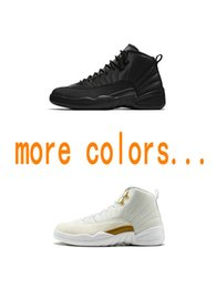 2019 New 12s zapatos de baloncesto para hombre J12 Michigan Wntr Gym Red NYC OVO Zapatos de diseño de lana Zapatillas de deporte Zapatillas de deporte Botas desde fabricantes