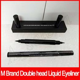Make-up machen online-Populäres Marken-Augenmake-up verblassen nicht flüssigen Eyeliner-wasserdichten Eyeliner-Bleistift-Schwarz-Netz WT 1.8g freies Verschiffen