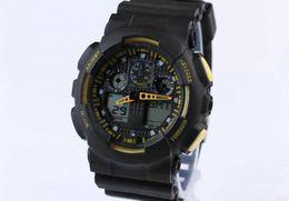 led-uhr klassisch Rabatt Neueste neueste modelluhr ga100 ga 100 uhr, klassische armbanduhr relogio reloj de pulsera, led männer frauen uhr