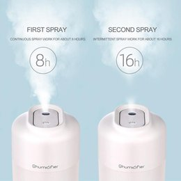 Portable Air Vaporize Humidifier Cool Mist Humidifier Built in 800mAh Battery Operated Mini Desgin