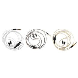 Mmcx кабели онлайн-Кабель MMCX в Shure SE215 SE315 se535 в SE846 наушники шнур кабель для Xiaomi для iPhone Андроид