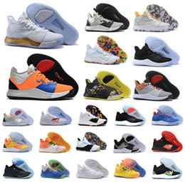 Hot Paul George PG 3 3S III TS GS ID EP PALMDALE scarpe da basket a buon mercato PG3 Starry Blue Orange Sport Sneakers Taglia 40 46