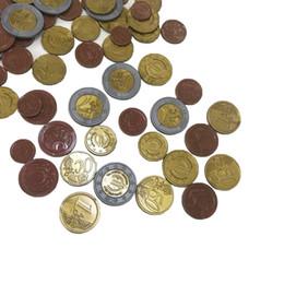SET DI 70 EURO MONETE plastica / giocare soldi NUOVO matematica scuola Imparare RESOURC 1/2/10/20/50 centesimo di euro 1/2 da generatori di potenza all'ingrosso fornitori