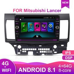 2019 lancer gps dvd EBILAEN Autoradio Multimedia player Für Mitsubishi Lancer X 2Din Android 8.1 Autoradio GPS Navigation Video Audio Player auto dvd rabatt lancer gps dvd