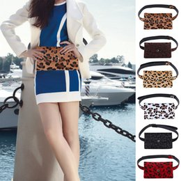 WENYUJH Frauen Gürteltasche Mode Leopardenmuster Haar Dekorative Taschen Dual-Use-Handy-Halter Tasche Gürteltasche Gürteltaschen von Fabrikanten