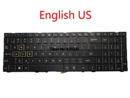 ThundeRobot 911 Için Laptop Klavye TARGA T6A T6B T6C 0KN1-0H2US22 MP-13H83USJ5284 ABD 0KN1-0H4UK12 MP-13H86GBJ5282 İNGILTERE cheap keyboard mp nereden klavye mp tedarikçiler
