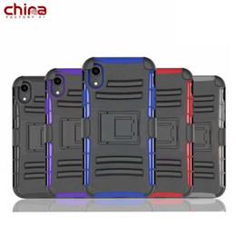 Защитный кронштейн онлайн-Чехол для телефона China By PC Creative Bracket Полная защита Крышка телефона для iphone 8 Xs Max Samsung