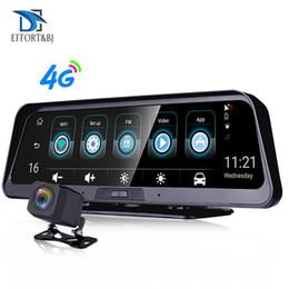 cruscotto android Sconti EffortBJ 4G Dash Cam Android Dashboard Telecamera per auto WiFi GPS ADAS Car DVR 1080P Videoregistratore Registratore Telecamera per retrovisione automatica