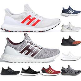 Adidas Ultra boost Running Shoes 3.0 4.0 Uomo Donna Stripe Balck Bianco Oreo Designer Sneakers Scarpe sportive Scarpe da ginnastica 36-45 da y3 boost fornitori